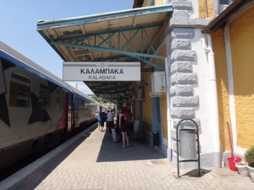 カランバカの駅に到着。