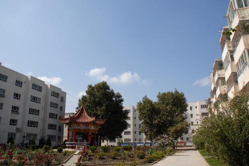 さて、岳普湖の2人をお出迎えに向かいます。<br /><br /><br />韓さん宅の小区内には、広い公園が付いています。