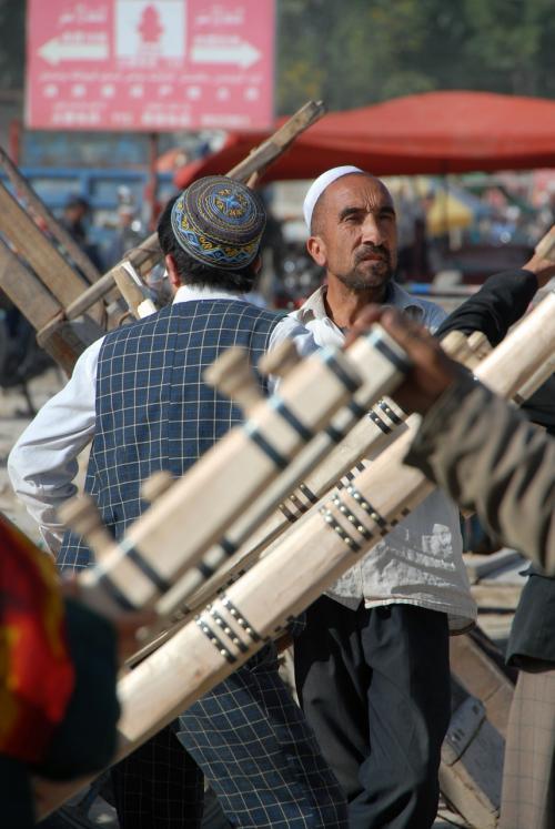 デザインモノと維吾爾人って良く合います。