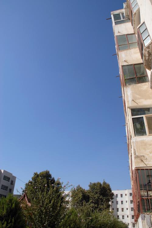 わお!<br />本日は、今回の訪問で一番のお天気では無いでしょうか?<br /><br />空が澄んでて真っ青ですぅ〜♪