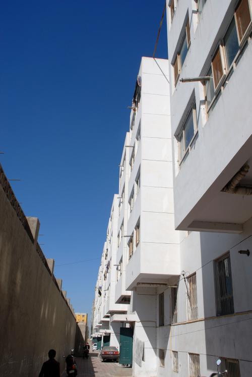 やって来ましたお姉さんの住んでいるアパート。