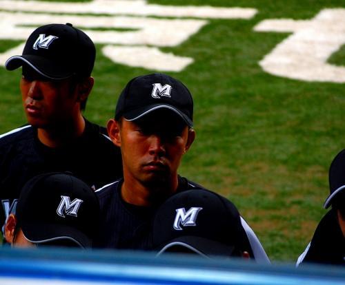 この写真を撮った5日後に、東京ヤクルトスワローズに指名された古野正人。<br /><br />日産時代の写真は、こちら。<br />http://www.plus-blog.sportsnavi.com/chifu/article/348<br />