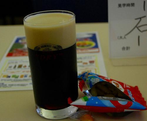 こちらが、黒生。<br />美味しいわ〜<br /><br />3杯目は、ハーフ&ハーフにしました。