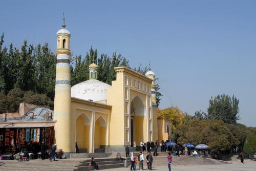こちらのモスク、綺麗な角度はこの感じかな?