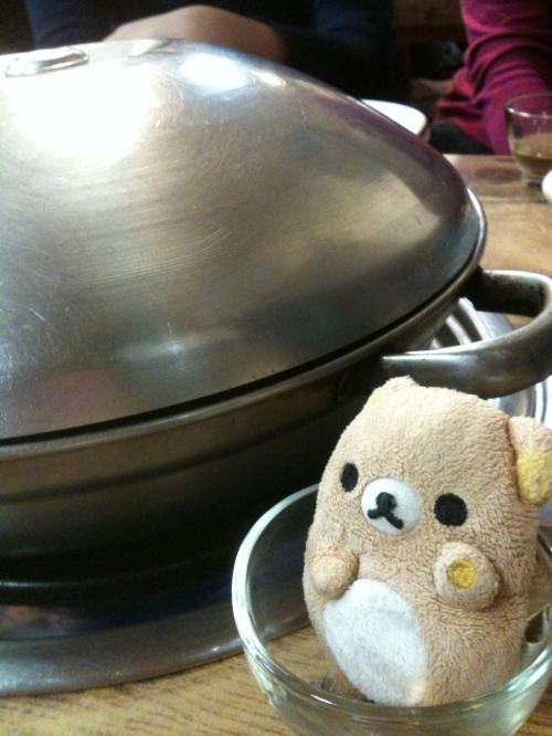 そうです、焦げ子はこのお鍋で焦げたのです。<br /><br />焦げ子誕生の地です。