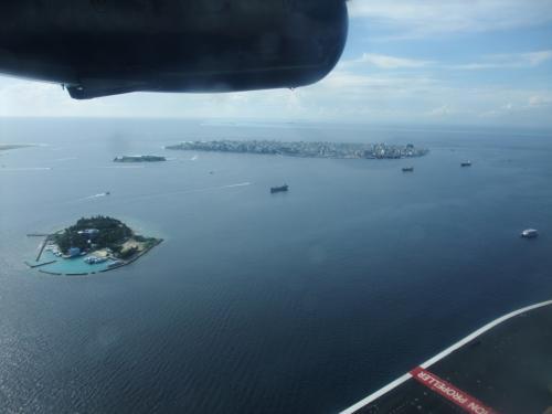 水上飛行機からの眺め1