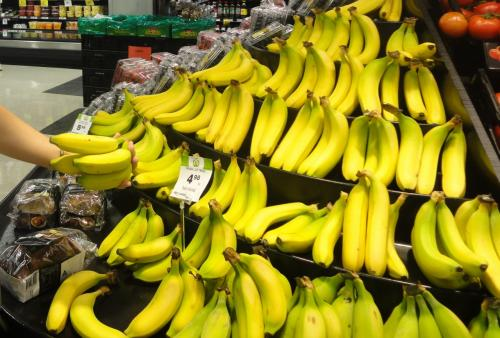 バナナがなんと約5ドル。<br /><br />シドニーは物価が高いです。