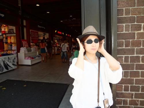 素敵な帽子と出会いました。<br /><br />来年の夏に活躍してくれるはずです。