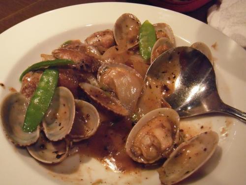 ・2011/3/4<br />蛤の豆鼓炒めだったかな?美味しかったデス!