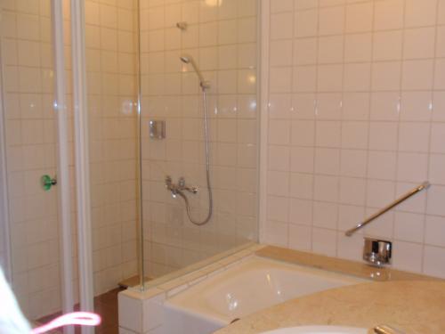 シャワーブースもあってとっても使いやすかったです。