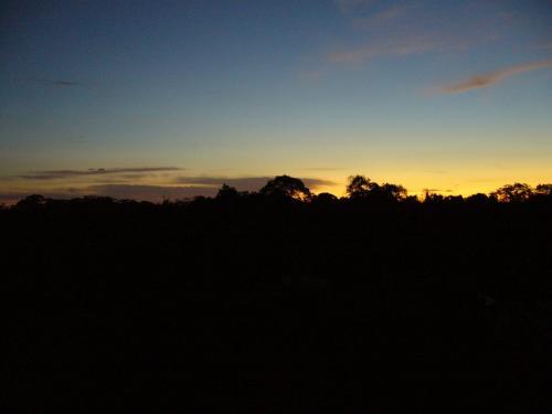 アンコール・ワットの夜明け。