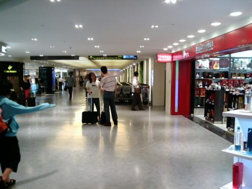 台北、桃園国際空港