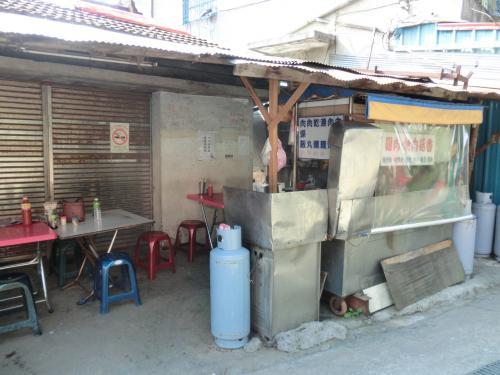 食べたお店ですが、地元の人が良く買いに来てました、すごくおいしかったです。他にもお店は3,4軒あるので梨山での食事、買い物は問題ありません。