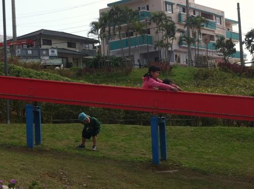第5日)宜野湾いこいの市民パーク。意外と普通の公園でした。