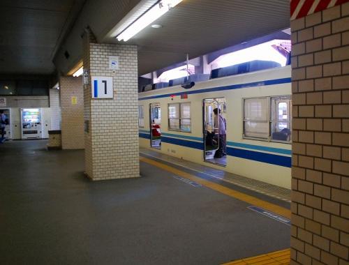 では、この電車で鎌ヶ谷へ。
