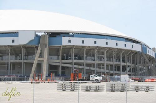 2009年7月 ダラス・新スタジアム取材