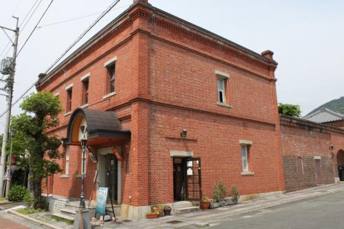 続いておおず赤煉瓦館。中には入っていませんが、よく見かける赤煉瓦の建物です。