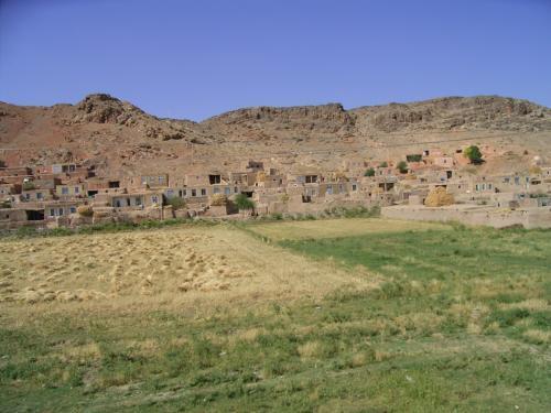 イランの農村