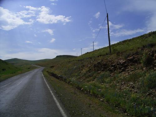 トルコの東北部辺境地帯をグルジアに向かう。