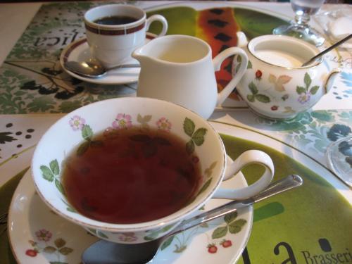 「ブラッスリー ラ・ムジカ」<br />食後にコーヒーか紅茶がつきました。