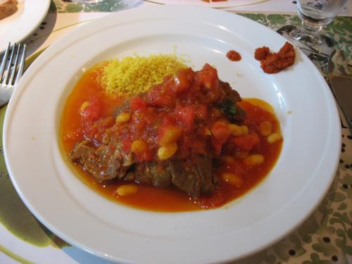 「ブラッスリー ラ・ムジカ」<br />メイン:子羊のプロヴァンス風 トマト煮込み