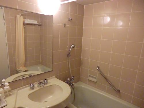 客室のバスルーム(写真)