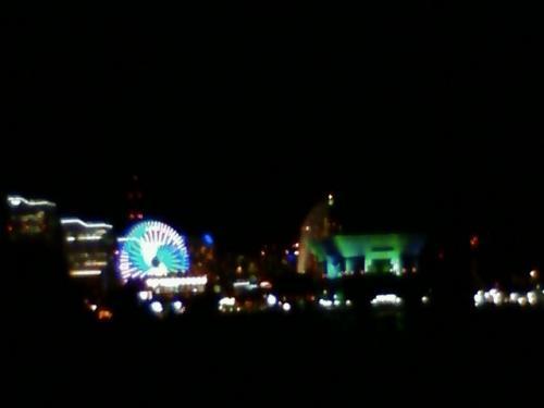 山下公園から見た夜景。