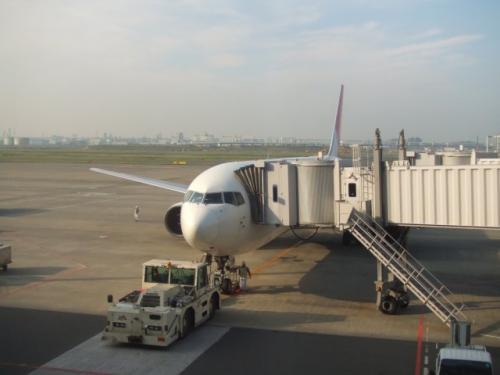10月、優勝争いをしている我がチームの応援のために初の大分ドームへ参戦するために大分〜九州に遠征に出かけました。旅のスタートは毎度の羽田空港。