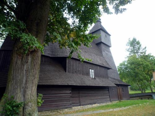 ヘルバルトフも、本当にのどかな村。聖フランシス・アシス教会は、「カルパチア山地のスロヴァキア地域の木造教会群」として世界遺産に登録されているそうだ。