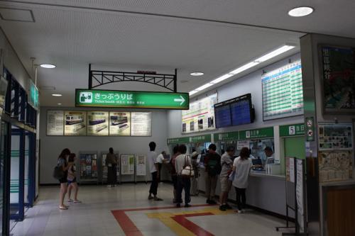 切符を購入<br />切符は前もってインターネットで予約しておいた。<br /><br />黒部峡谷鉄道<br />http://www.kurotetu.co.jp/