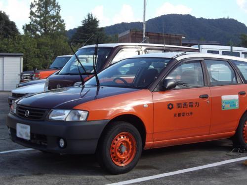 関電の車両の塗色と同じやないですか。