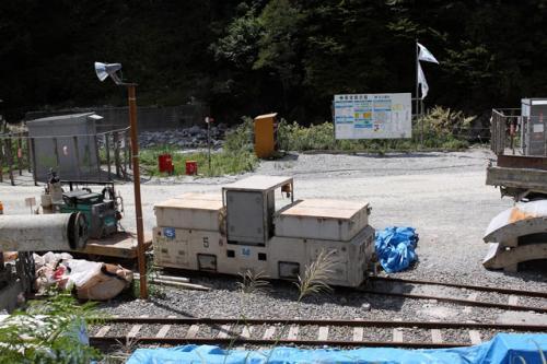 作業用機関車?
