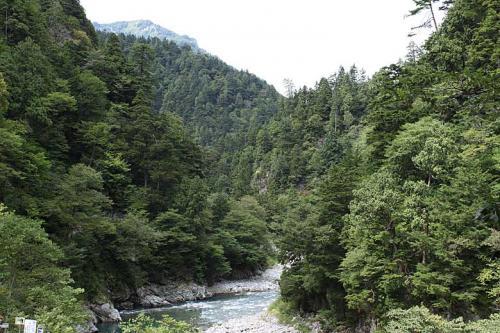 欅平にはいろいろと散策コースがあります。<br />http://www.kurotetu.co.jp/coursePlan/<br /><br />まずはこの写真の先の猿飛峡へ行ってみましょう。