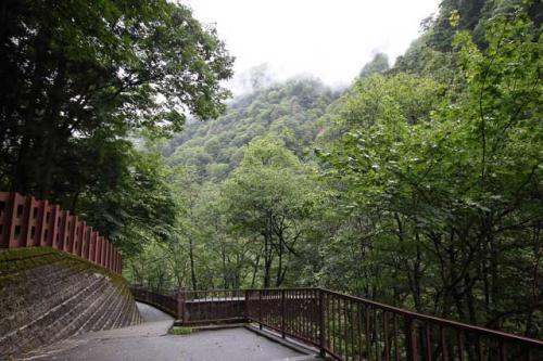 09:25<br /><br />おかみさんにお別れを言い鐘釣駅へ向かいましょう。<br />雨はちょっと小降りになってきました。