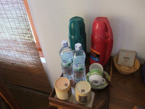 ミネラルウォーターと白湯(体をあたためるため)<br />コーヒー、紅茶などの嗜好品はなし