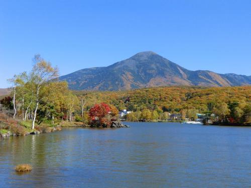 朝8時頃に自宅を出て中央高速道路を快適にドライブし、11時頃には「白樺湖」(写真)に到着。晴れ渡った秋空の下、山々は紅葉し、美しい白樺湖が私を迎えてくれる。good,good,good 早くもテンションが上がる。<br />