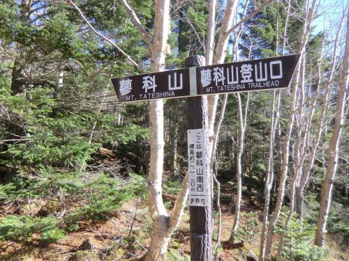 標高2113m地点(写真)に到着。登山口から400mほど登ってきたことになる。山頂は2530mなので、ここが丁度中間点である。ひと休みして水分補給、バナナ1/2、チーズ、ナッツ類を口に入れる。