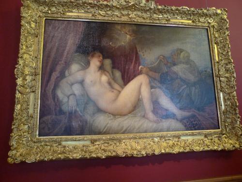 イタリア美術のコレクション<br /><br />ティツィアーノのダナエ