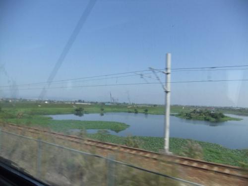 湿地帯のようなところが多く、広さを感じる。