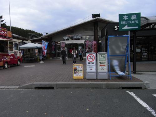 ここは、諏訪湖サービスエリア。