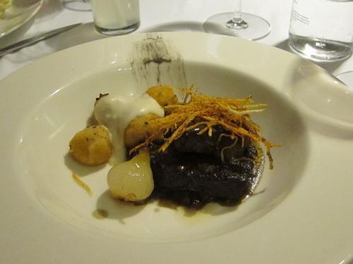 番外編その2:Canelones de barbacoa con slasa boracha. 羊肉のボラーチャソース