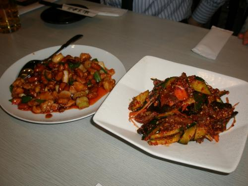 食事は本当においしかったです。<br /><br />店名・延吉香にもあるように