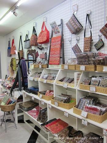 ヤオ族の刺繍製品。