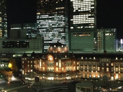 東京駅丸の内北口側のドーム
