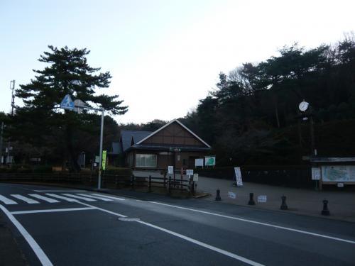 日本ラインうぬまの森。<br />ここから登山道がスタート。