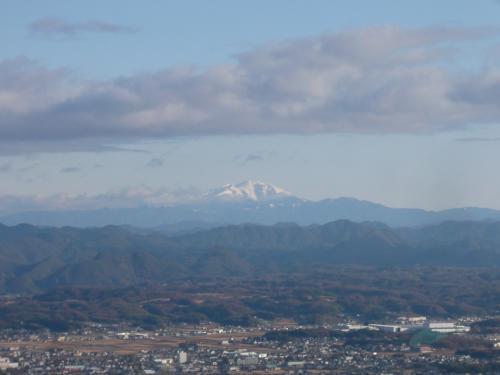 木曽御嶽山が見えました!