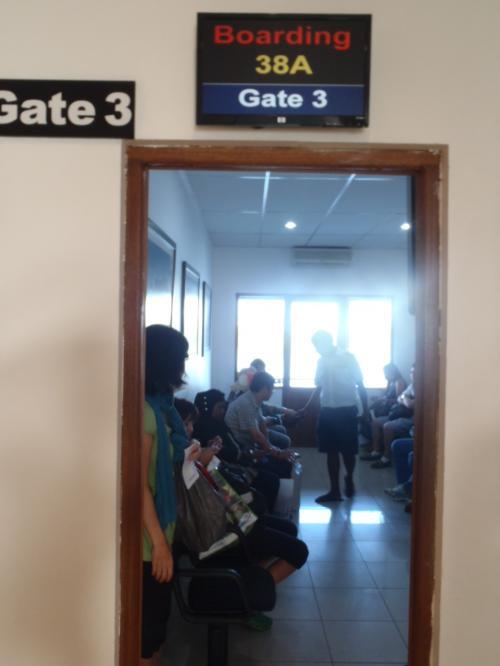 チェックインを済ませるとこちらの待合室で準備が出来るまでお待ちいただくことになります。<br />