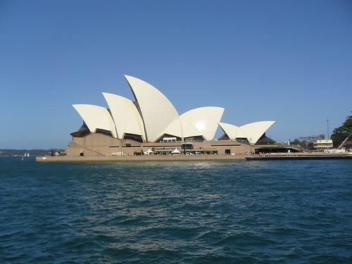 世界遺産にも登録されているオペラハウス