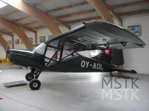 ユトランド2泊3日(3-1a):デンマーク航空博物館・空軍博物館: デンマーク航空史編