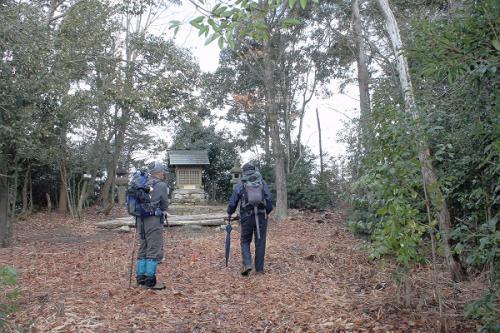 吉野神社に到着です。<br />かつては、ここお城が有ったようです。